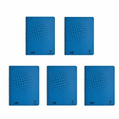 Clairefontaine Clean Safe Notebook A4 Plus Pack of 5
