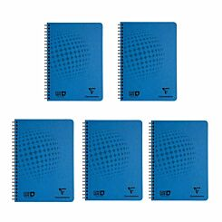 Clairefontaine Clean safe Notebook A5 Pack of 5