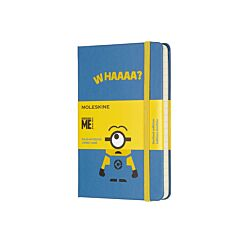 Moleskine Special Edition Pocket Ruled Notebook Minions Blue