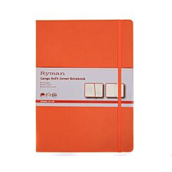 Ryman Soft Cover Notebook Large Ruled 192 Pages 96 Sheets