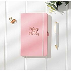 Ryman Personalised Wedding Future Medium Lined Notebook