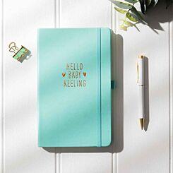 Ryman Personalised Hello Baby Notebook