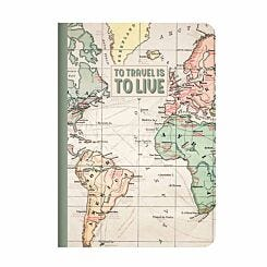 Legami Quaderno Travel Lined Notebook A6