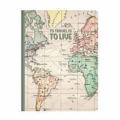 Legami Quaderno Travel Lined Notebook B5