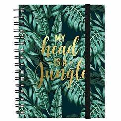 Legami Maxi Trio Spiral Notebook Jungle