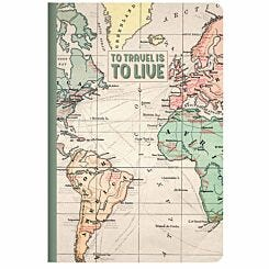 Legami Quaderno Travel Lined Notebook A5