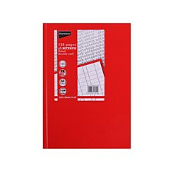 Ryman Case Bound  Memo Book Double Cash A5 128 Pages 70gsm