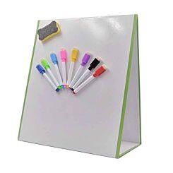 Magnetic Whiteboard Folding Tabletop Easel