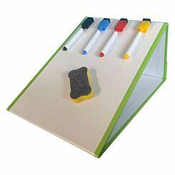 Magic Tabletop Magnetic Whiteboard Folding Easel A4