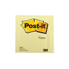 3M Post it Notes Self Adhesive 100x100mm 200 Sheets