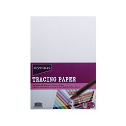 Ryman Tracing Paper A4 41gsm 25 Sheets