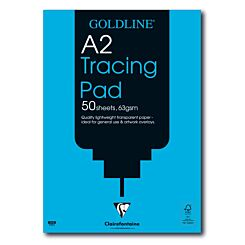 Goldline Popular Tracing Pad A2 63gsm 50 Sheets