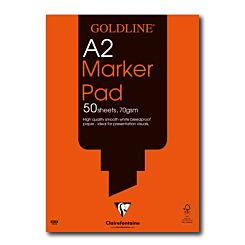 Goldline Bleedproof Marker Pad A2