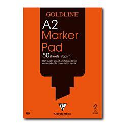 Goldline Bleedproof Marker Pad A2