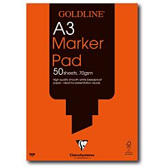 Goldline Bleedproof Marker Pad A3