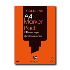 Goldline Bleedproof Marker Pad A4