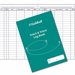 Guildhall Track and Trace Log Book A4 48 Pages