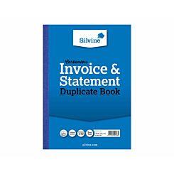 Silvine Duplicate Order Book Carbonless Numbered 1-50
