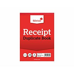Silvine Duplicate Cash Receipt Book Gummed 50 Sheets (Reference Number 230)