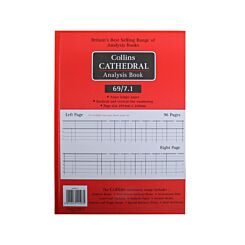 Cathedral Account Book 7 Cash Column 96 Pages 48 Sheets