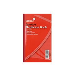 Silvine Duplicate Invoice 611 Pack of 6