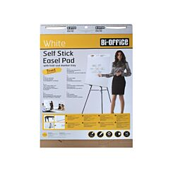 Bi-Office Flip Chart Pad Sticky A1 30 Sheet Pack of 2