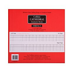 Collins Cathedral Analysis Book 150 Series 12 Cash Columns 150/12