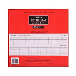 Collins Cathedral Analysis Book 150 Series 21 Cash Columns 150/21