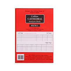Collins Cathedral Analysis Book 69 Series 10 Cash Columns 69/10