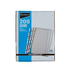 Ryman Punched Pockets A4 50 Micron Box of 200