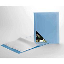 Seco Biodegradable Display Book A4 20 Pockets Blue