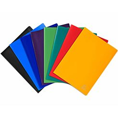 Exacompta A4 Display Book 100 Pockets Pack of 8 Assorted