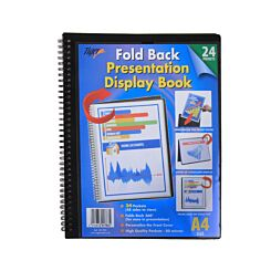 Tiger Presentation Display Book 24 Pocket