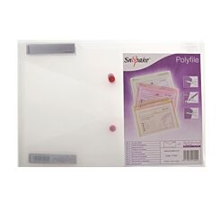 Snopake Polyfile Foolscap Pack of 5