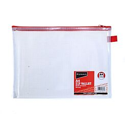 Ryman Tuff Zip Bag A4