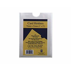 Goldline Card Holders 76x51mm
