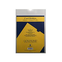 Goldline Card Holders 228x152mm