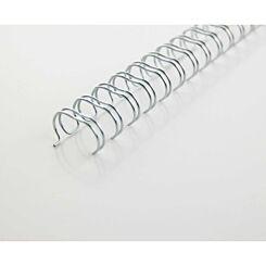 GBC WireBind Binding Wire A4 34 Loop 8mm Pack of 100 Black