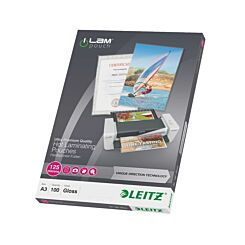 Leitz iLam Lamination Pouches A3 125 Micron Pack of 100