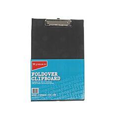 Ryman A4 Foldover Clipboard PVC Black