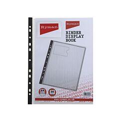Ryman Binder Display Book A4 20 Pockets