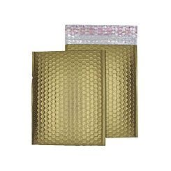 Blake Creative Colour Bubble Envelope C5 Plus Peel and Seal Pack of 10 Matt Metallic Gold Dust