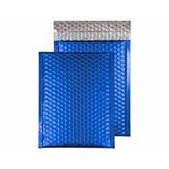 Blake Creative Colour Bubble Envelope C5 Plus Peel and Seal Pack of 10 Matt Metallic Neon Blue