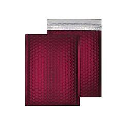 Blake Creative Colour Bubble Envelope C5 Plus Peel and Seal Pack of 10 Matt Metallic Mulled Wine
