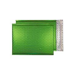 Blake Creative Colour Bubble Envelope C4 Peel and Seal Pack of 10 Matt Metallic Beetle Green