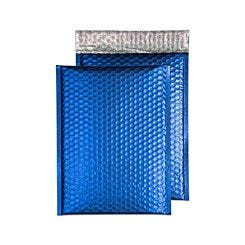 Blake Creative Colour Bubble Envelope C4 Peel and Seal Pack of 10 Matt Metallic Neon Blue