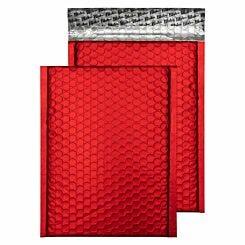 Blake Creative Colour Bubble Envelope C5 Plus Peel and Seal Pack of 10 Matt Metallic Red