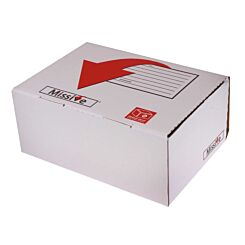 Missive Value Postal Box Small Parcel 450x350x80mm Pack of 20