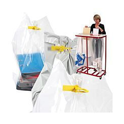 Postsafe Security Sacks Pack Of 50 Clear 680x980