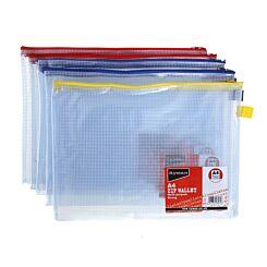 Ryman Zip Bag Heavy Duty A4 Pack of 5